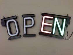 DIY LED NEON INDIVIDUAL LETTERS